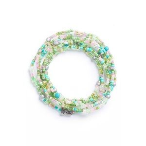 Me to We Green Rafiki Wrap Bracelet